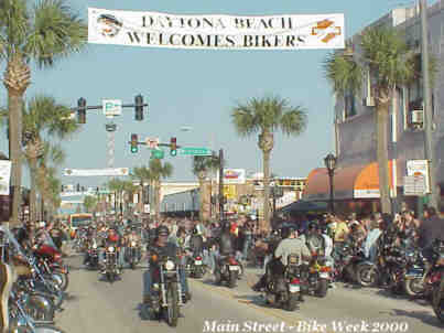 BikeWeek website on the Internet This is a huge website.