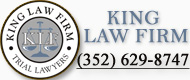 King Law Firm banner ad